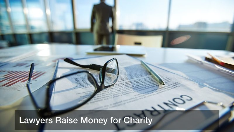 Lawyers Raise Money for Charity