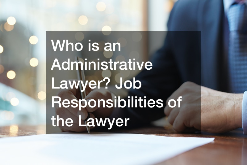 Job Insight: Administrative Lawyer